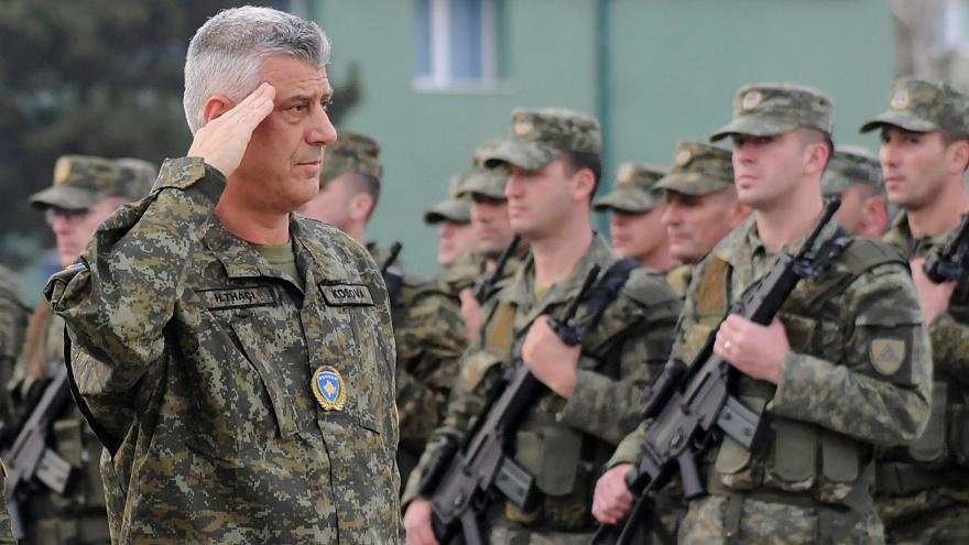 Kosovo forms new 8000-man army