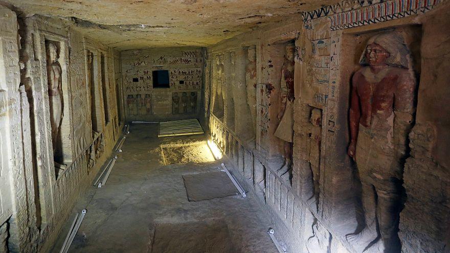 کشف یک مقبره ۴۴۰۰ ساله در مصر