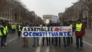 Foto galeri- Sarı yelekliler protestoları 5'inci haftasında