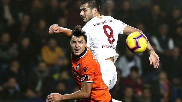 Lider Başakşehir Galatasaray ile puanları paylaştı: 1-1