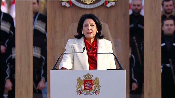 Salome Surabischwili als Präsidentin vereidigt