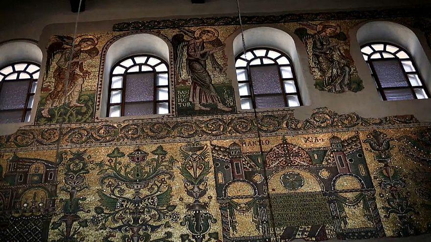 Les mosaïques de la Basilique de la Nativité retrouvent leur éclat