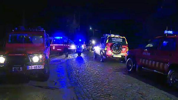 Vier Tote bei Absturz eines Rettungshubschrubers in Porto