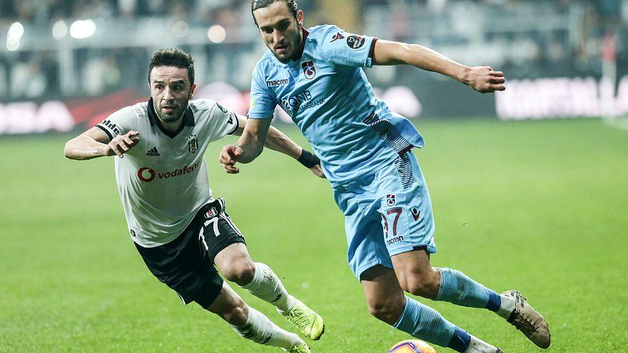 Trabzonspor ve Beşiktaş zirve yarışında berabere kaldı: 2-2