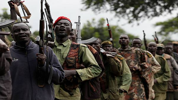مقاتلون من المعارضة بجنوب السودان