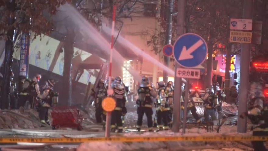 Al menos 40 heridos tras una explosión en un restaurante de Sapporo