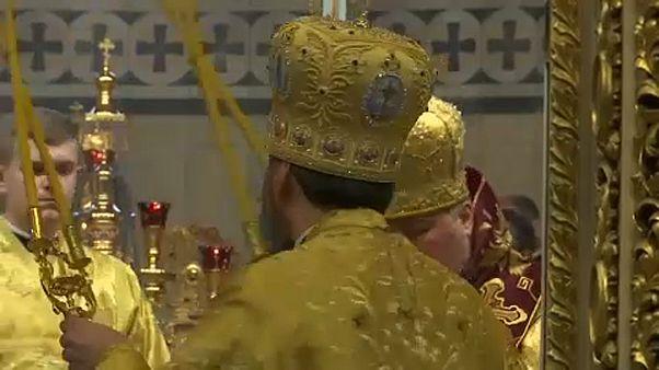Ουκρανία: Πρώτη λειτουργία για την αυτοκέφαλη εκκλησία
