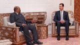 بشار اسد و عمر البشیر در دمشق