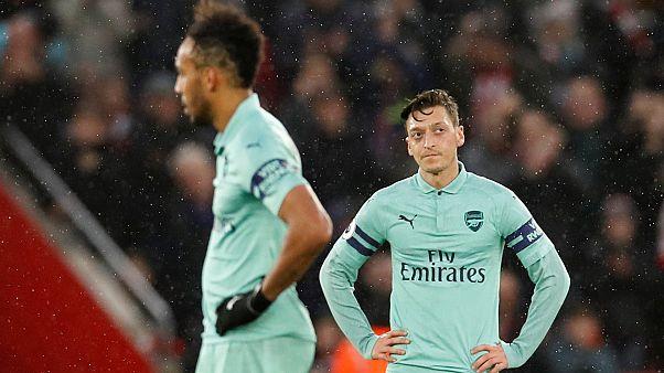 Arsenal'in 22 maçlık yenilmezlik serisi son buldu