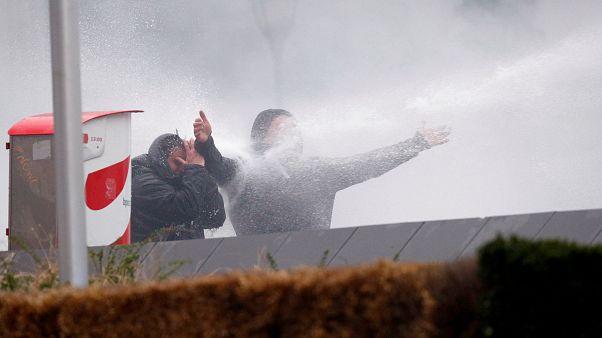 Bevándorlásellenes tüntetők randalíroztak Brüsszelben