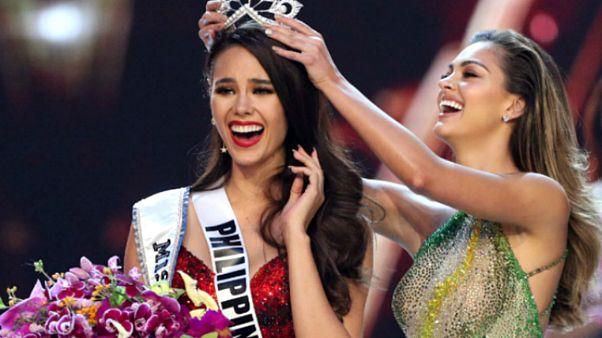 Video | Kainat Güzellik Yarışması'nın galibi 4'üncü kez Filipinler