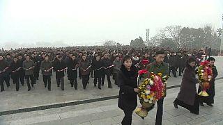 L'hommage à Kim Jung Il à Pyongyang