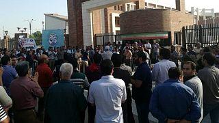 تعدادی از کارگران معترض فولاد اهواز بازداشت شدند