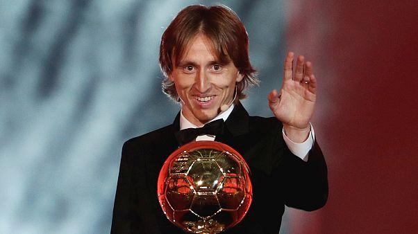 Modric'ten Ronaldo ve Messi'ye Ballon d'Or tepkisi