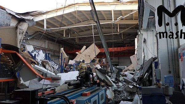Обрушение здания в Подмосковье