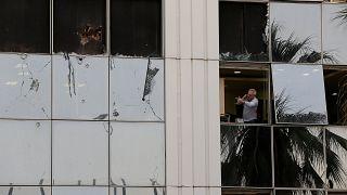 «حمله به دموکراسی»؛ انفجار در یک شبکه تلویزیونی در یونان