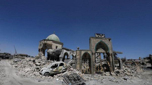 Musul'daki tarihi Büyük Nuri Camisi ve Hadba Minaresi yeniden inşa ediliyor