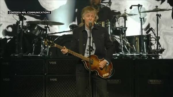 Londres vibra con Paul McCartney