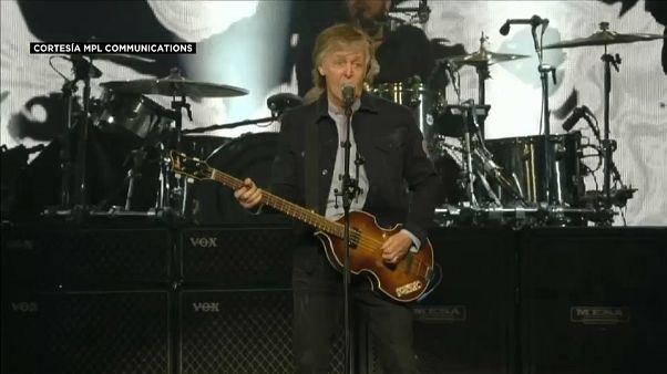 Londres vibra con Paul McCartney