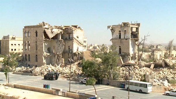 UNESCO'nun Halep antik kent raporu: Tarihi binaların yarısı savaşta zarar gördü
