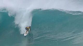 Gabriel Medina está cada vez más cerca de la 'corona' mundial de surf