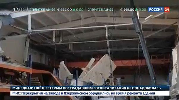 Colapso de fábrica provoca mortes na Rússia