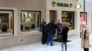 Ένοπλη ληστεία σε κατάστημα ρολογιών στην Αθήνα