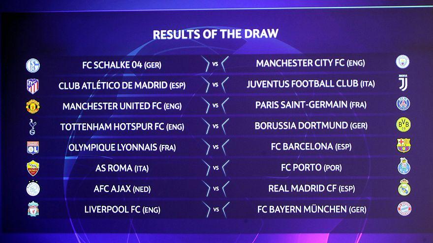BL: Liverpool-Bayern a nyolcaddöntőben