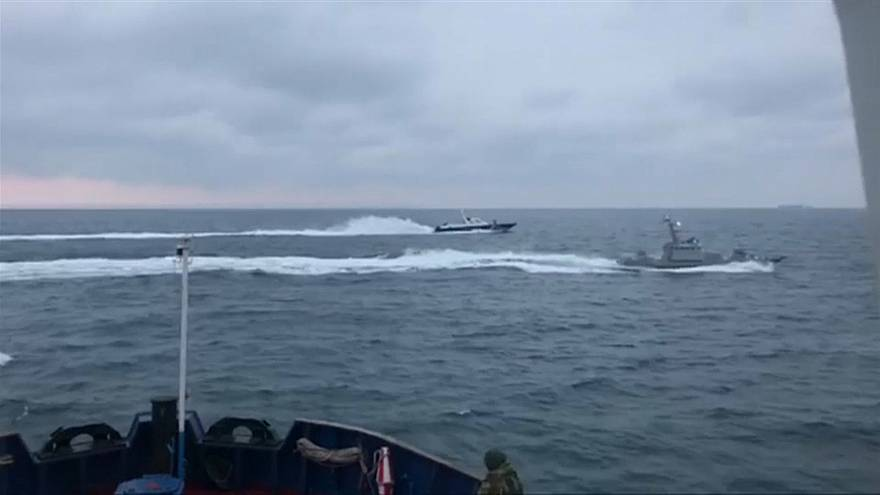 Crece la tensión por el estatus jurídico de los marineros ucranianos detenidos por Rusia