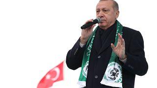 Словесная баталия Эрдогана с Нетаньяху
