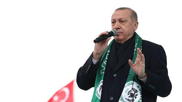 اردوغان از احتمال آغاز عملیات نظامی ترکیه در سوریه خبر داد