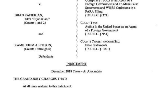 Trump'ın eski danışmanı Flynn'in ortaklarına Gülen'i kaçırmaya çalışmaktan dava açıldı