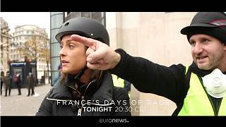 Watch: France's Days of Rage - documentary on the 'gilets jaunes' movement