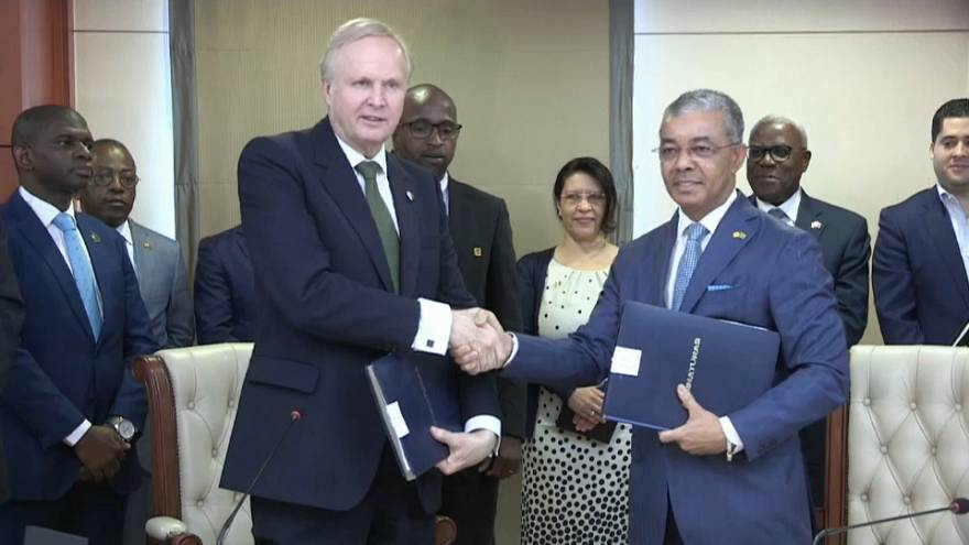 Sonangol e BP assinam acordos de investimento