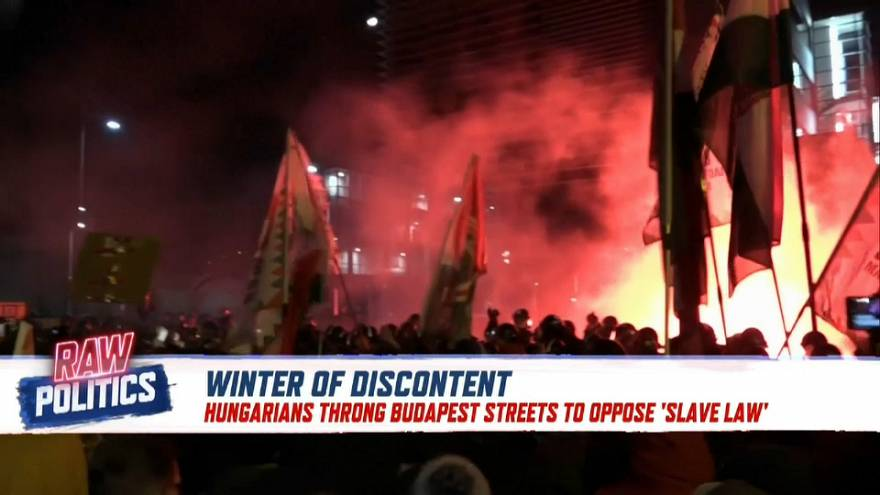 Winter of discontent? Protests spread to Brussels and Budapest   Raw Politics