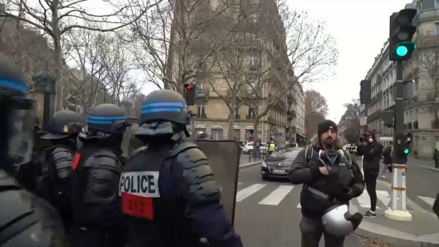 Frankreich: Jetzt streiken die Polizisten