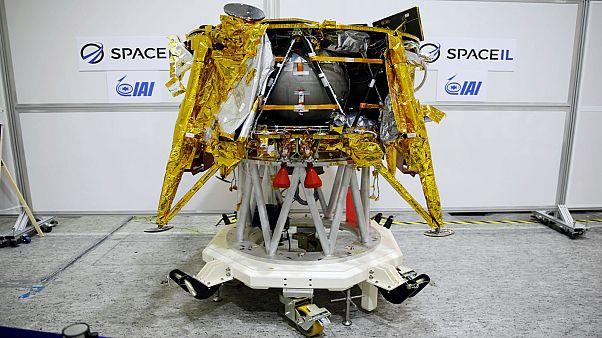 شاهد: إسرائيل سترسل مركبة فضائية إلى القمر