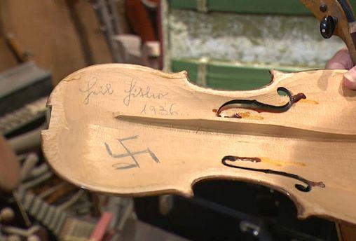 """""""Violinos da Esperança"""" em Dresden"""