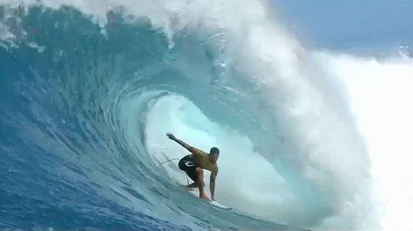 Стал известен чемпион мира по серфингу