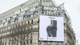 پوستر تبلیغاتی جنسیتزده گالری لافایت پاریس ظرف یک روز پائین کشیده شد