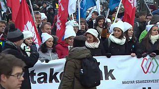Oposição unida contra Orbán em Budapeste