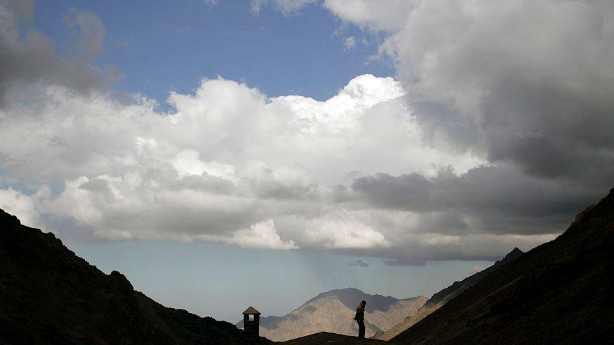 وادي توبقال في منطقة الأطلس بالقرب من امليل