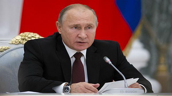 بوتين: سننتج صواريخ متوسطة المدى إذا انسحبت أمريكا من معاهدة الحد من التسلح النووي