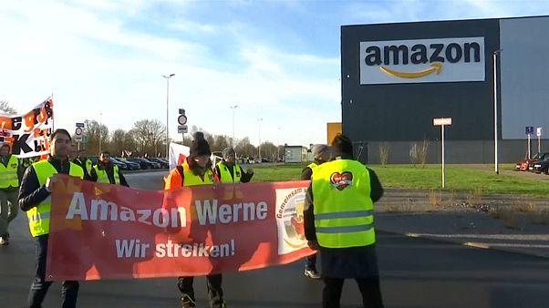 Weihnachtsstreik bei Amazon