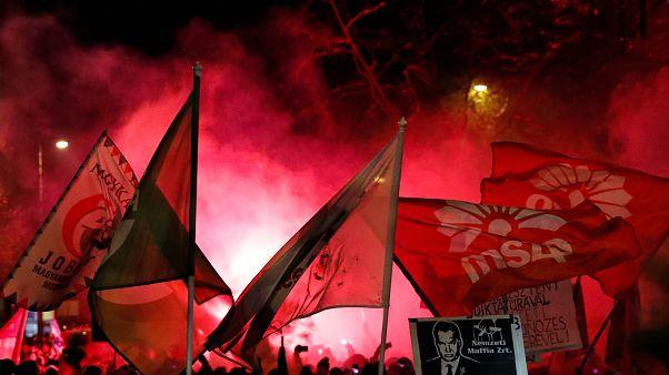 Az ellenzéki pártok és a tüntetéssorozat