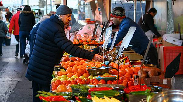 سوق سان أنطوان في مدينة ليون الفرنسية