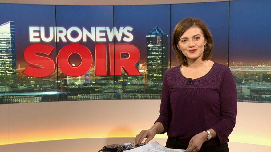 Euronews soir : l'actualité du mardi 18 décembre