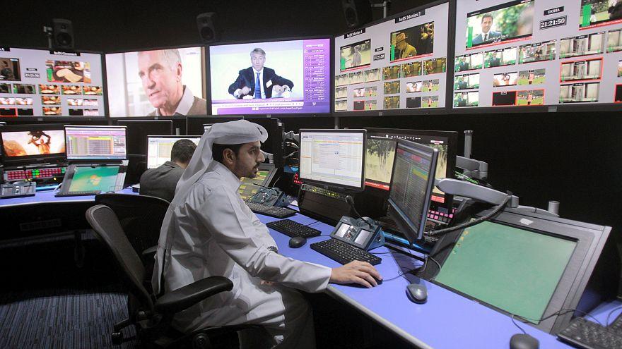 صورة لأستوديوهات بي إن سبورت في الدوحة