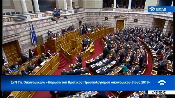 Megszavazták a görög költségvetést