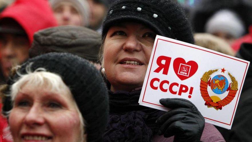 Число сожалеющих о распаде СССР достигло максимума за 10 лет